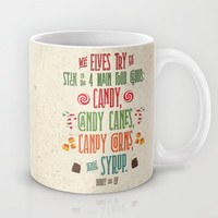 Buddy the Elf! The Four Main Food Groups Mug by Noonday Design