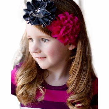 Giggle Moon-Eternal Bliss Knit Headband  (size Toddler)