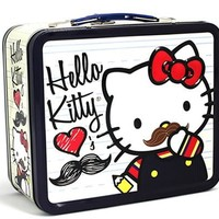 Mustache - Hello Kitty Lunch Box