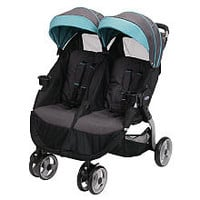 Graco FastAction Fold Duo Click Connect Double Stroller - Tidalwave