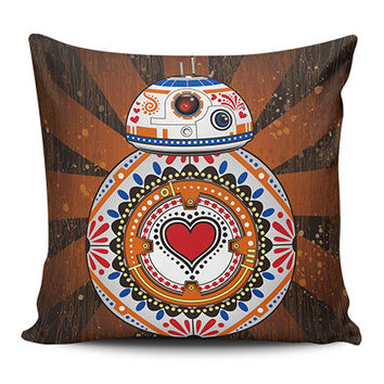 Sugar Skull Wars Pillow Cover Clearance