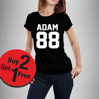 Adam 88 Adam Hann Healy 1975 band shirt Hipster tshirt tumblr Unisex Women shirt