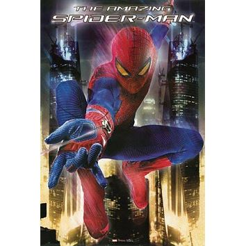 THE AMAZING SPIDER-MAN POSTER Spiderman RARE HOT NEW 24x36