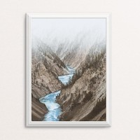 Yellowstone River   - photo art print
