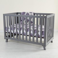 Low-Rise Crib (Grey Frame with Grey Base)