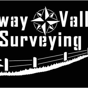 Seaway Valley Surveying Sign