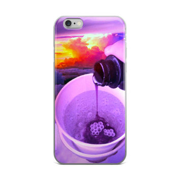 Pouring Up A Double Cup Of Dirty Sprite iPhone 4 4s 5 5s 5C 6 6s 6 Plus 6s Plus 7 & 7 Plus Case