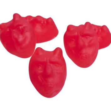 Red Hot Devil Chews Cinnamon Candy: 5LB Bag