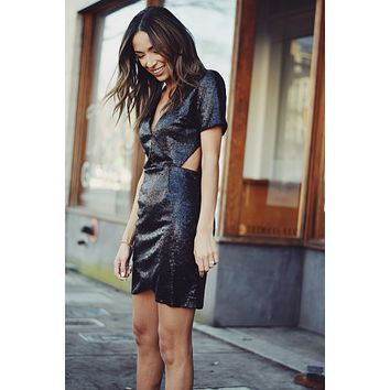 Muse Sequin Cutout Dress