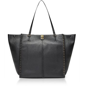 Rebecca Minkoff Black Grainy Leather Darren Tote