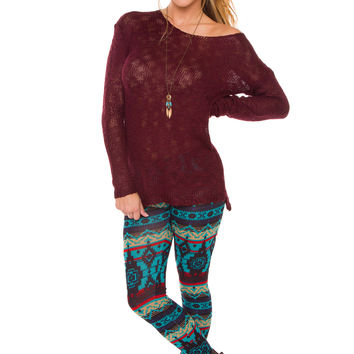Made To Last Leggings - Teal