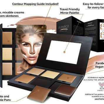 The Best Face Body Contour Mineral Makeup Kit