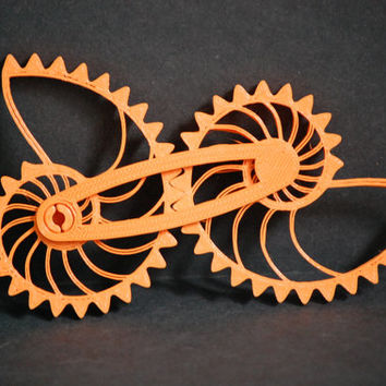 3D Printed Logarithmic Nautilus Gear Sprial Toy Puzzle