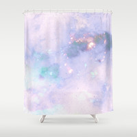 The Colors Of The Galaxy 2 Shower Curtain by Barruf Designs