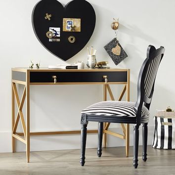 The Emily & Meritt X-Frame Metal Desk