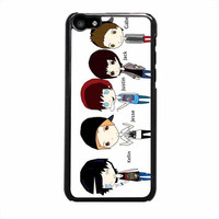 sleeping with sirens cartoon iphone 5c 5 5s 4 4s 6 6s plus cases