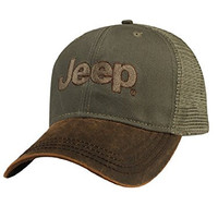 Jeep® Brown Waxcloth Cap