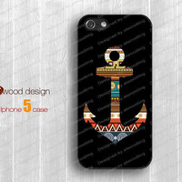 NEW iphone 5 cases case for iphone 5  iphone 5 cover anchor graphic atwoodting design