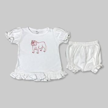 Bulldog Bloomer Set