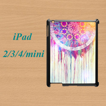 ipad mini case,cute ipad mini case,ipad 2 case,ipad 2 cover,ipad 3 case,ipad 3 cover,ipad 4 case,ipad 4 cover--dream catcher,in plastic.