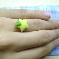 KH: Kingdom Hearts Paopu Fruit Adjustable Ring
