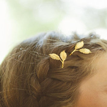 Hair Accessories 1Pc Women Lady Girls Hair Clip Delicate Women Leaf Feather Hair Clip Hairpin Barrette Bobby Pins #B810