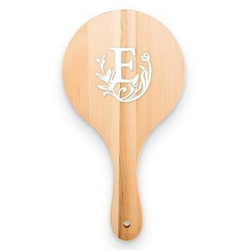 Wooden Hand Mirror - Modern Fairy Tale Initial (Pack of 1)