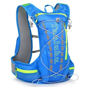 ULTRA-TRI Lightweight Trail Running Backpack Outdoor Sports Race Training Bag Hydration Vest Pack