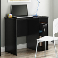 Small Office Desk In Black Finish