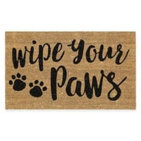 Mohawk Home Wipe Your Paws Coir Door Mat