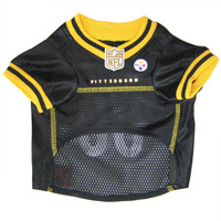 Pittsburgh Steelers Pet Mesh Jersey