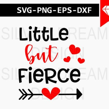 little but fierce svg, fierce baby svg, funny Onesuit svg, Onesuit designs, svg files for silhouette, cricut downloads, fierce baby girl svg