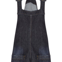 Paul & Joe Sister | Boussole stretch-denim dungaree shorts | NET-A-PORTER.COM