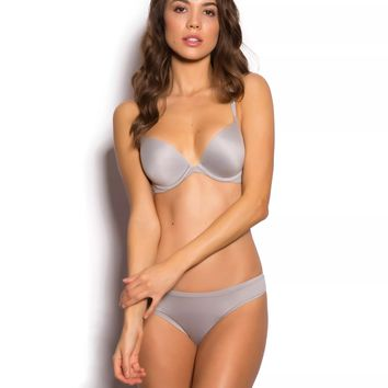 Body Bliss Brazilian Knicker - Light Grey - Body Bliss Collection - Collections