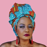 THE ACCRA African Print Head Wrap