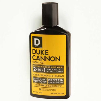 Duke Cannon 2-in-1 Tea Tree Shampoo & Conditioner