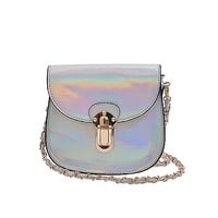 Dazed Holographic Chain Purse
