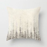 Forest Home Throw Pillow by Rskinner1122
