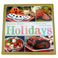 disney parks delicious disney holidays cookbook with pam brandon new