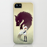 Werewolf iPhone & iPod Case by Freeminds