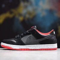 Nike Dunk Low Pro SB Bred Black&Red 304292-050
