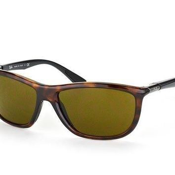 Authentic Ray Ban Sunglasses RB8351 6221/73 Tortoise / Brown Classic Lens 60mm