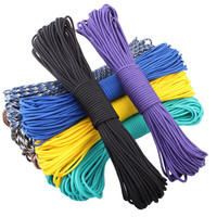 108 colors Paracord 550 Paracord Parachute Cord Lanyard Rope Mil Spec Type III 7Strand 100FT Climbing Camping survival equipment