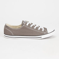 Converse Chuck Taylor All Star Dainty Womens Shoes Charcoal  In Sizes