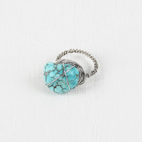 Turquiose Piece Ring