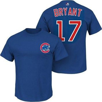 Kris Bryant Chicago Cubs Youth Royal Player T-Shirt by Majestic