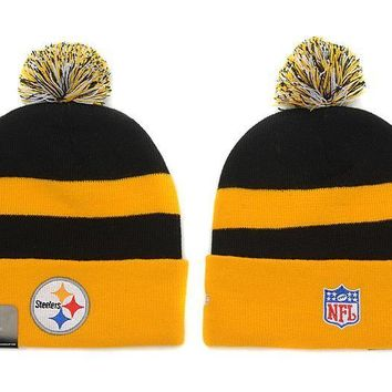 ESBON Pittsburgh Steelers Beanies New Era NFL Football Cap