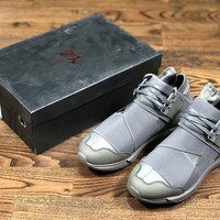 Y3 Qasa running shoes gray size 36-45