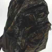 Timber Ridge Hunting Gear Mossy Oak Camo All Day Pack Backpack Camping Outdoors