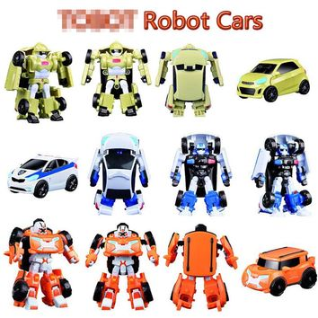 New Arrival Classic Transformation Plastic TOBOT Robot Cars Action & Toy Figures Kids Education Toy Gifts